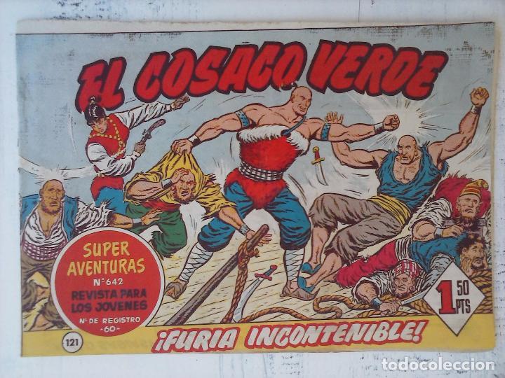 Tebeos: EL COSACO VERDE COMPLETA ORIGINAL Y SUELTA - 1 AL 144 , MAGNÍFICO ESTADO, VER TODAS LAS PORTADAS - Foto 43 - 94629439