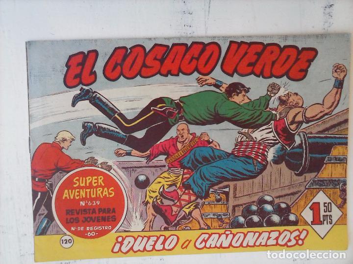 Tebeos: EL COSACO VERDE COMPLETA ORIGINAL Y SUELTA - 1 AL 144 , MAGNÍFICO ESTADO, VER TODAS LAS PORTADAS - Foto 44 - 94629439