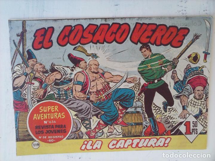 Tebeos: EL COSACO VERDE COMPLETA ORIGINAL Y SUELTA - 1 AL 144 , MAGNÍFICO ESTADO, VER TODAS LAS PORTADAS - Foto 45 - 94629439