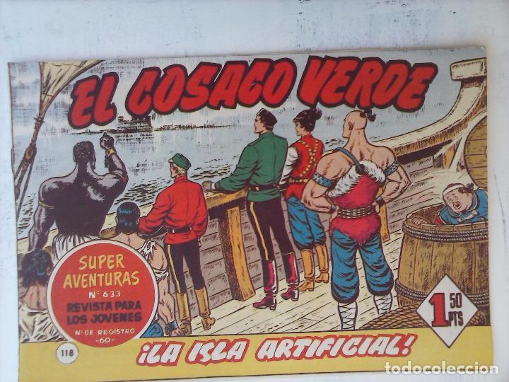 Tebeos: EL COSACO VERDE COMPLETA ORIGINAL Y SUELTA - 1 AL 144 , MAGNÍFICO ESTADO, VER TODAS LAS PORTADAS - Foto 46 - 94629439