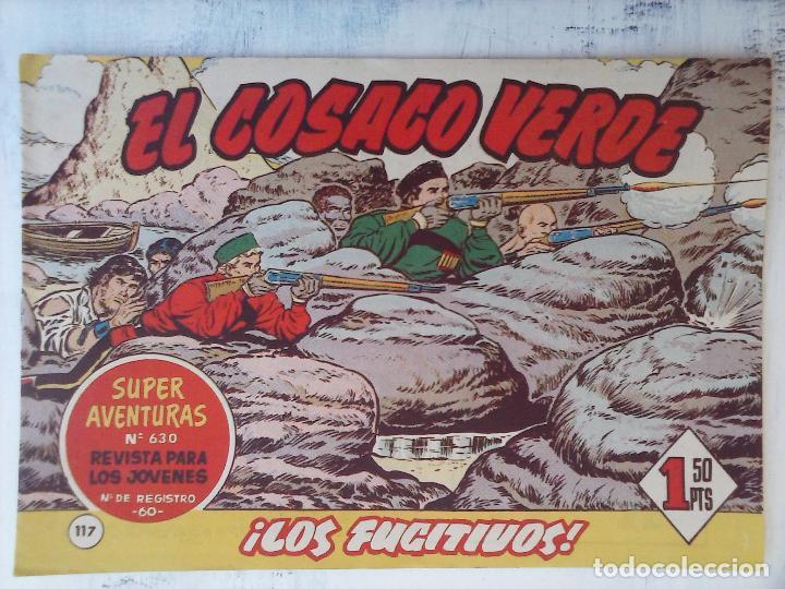 Tebeos: EL COSACO VERDE COMPLETA ORIGINAL Y SUELTA - 1 AL 144 , MAGNÍFICO ESTADO, VER TODAS LAS PORTADAS - Foto 47 - 94629439