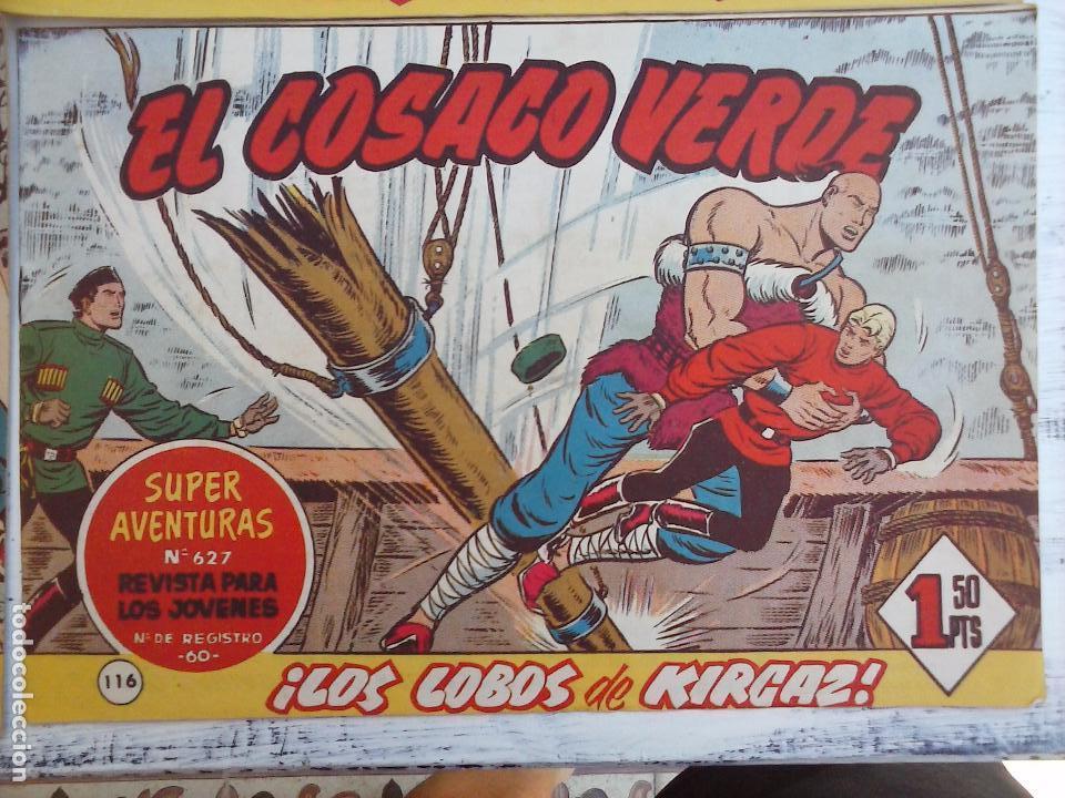 Tebeos: EL COSACO VERDE COMPLETA ORIGINAL Y SUELTA - 1 AL 144 , MAGNÍFICO ESTADO, VER TODAS LAS PORTADAS - Foto 48 - 94629439