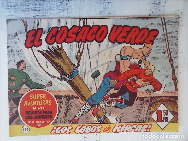 Tebeos: EL COSACO VERDE COMPLETA ORIGINAL Y SUELTA - 1 AL 144 , MAGNÍFICO ESTADO, VER TODAS LAS PORTADAS - Foto 49 - 94629439