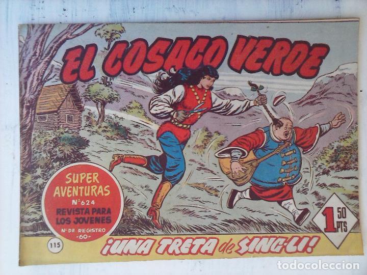 Tebeos: EL COSACO VERDE COMPLETA ORIGINAL Y SUELTA - 1 AL 144 , MAGNÍFICO ESTADO, VER TODAS LAS PORTADAS - Foto 50 - 94629439
