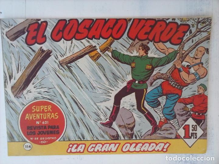 Tebeos: EL COSACO VERDE COMPLETA ORIGINAL Y SUELTA - 1 AL 144 , MAGNÍFICO ESTADO, VER TODAS LAS PORTADAS - Foto 51 - 94629439