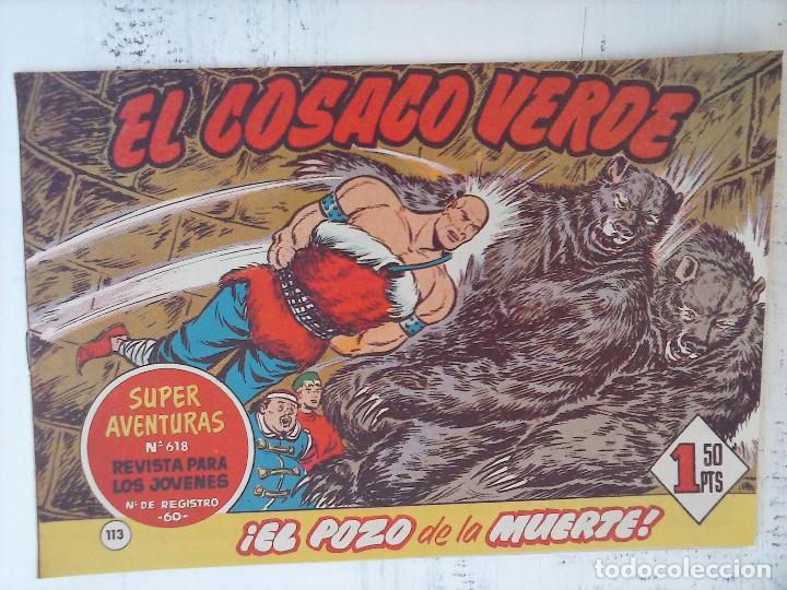 Tebeos: EL COSACO VERDE COMPLETA ORIGINAL Y SUELTA - 1 AL 144 , MAGNÍFICO ESTADO, VER TODAS LAS PORTADAS - Foto 52 - 94629439