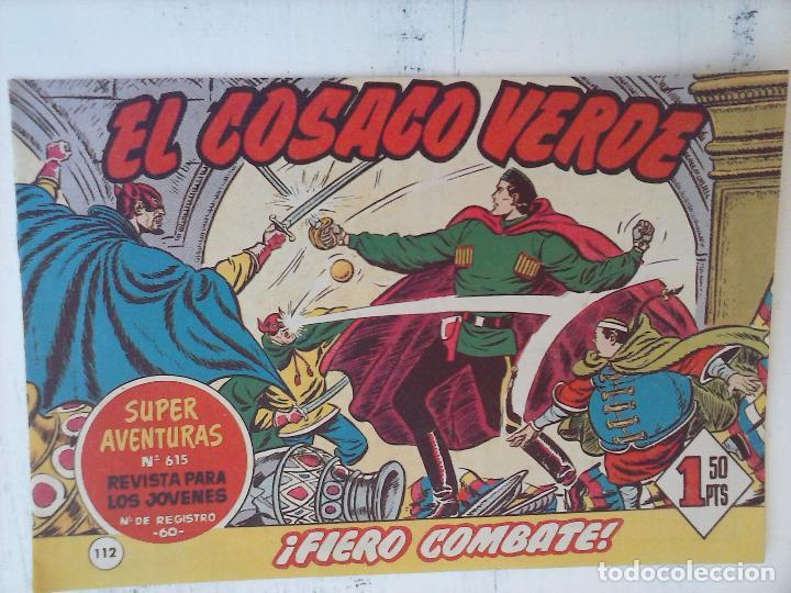 Tebeos: EL COSACO VERDE COMPLETA ORIGINAL Y SUELTA - 1 AL 144 , MAGNÍFICO ESTADO, VER TODAS LAS PORTADAS - Foto 53 - 94629439