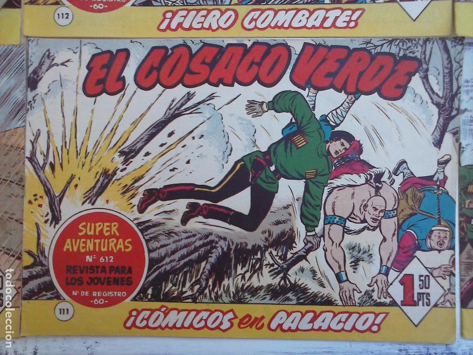 Tebeos: EL COSACO VERDE COMPLETA ORIGINAL Y SUELTA - 1 AL 144 , MAGNÍFICO ESTADO, VER TODAS LAS PORTADAS - Foto 54 - 94629439