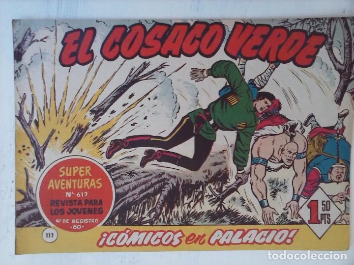 Tebeos: EL COSACO VERDE COMPLETA ORIGINAL Y SUELTA - 1 AL 144 , MAGNÍFICO ESTADO, VER TODAS LAS PORTADAS - Foto 55 - 94629439