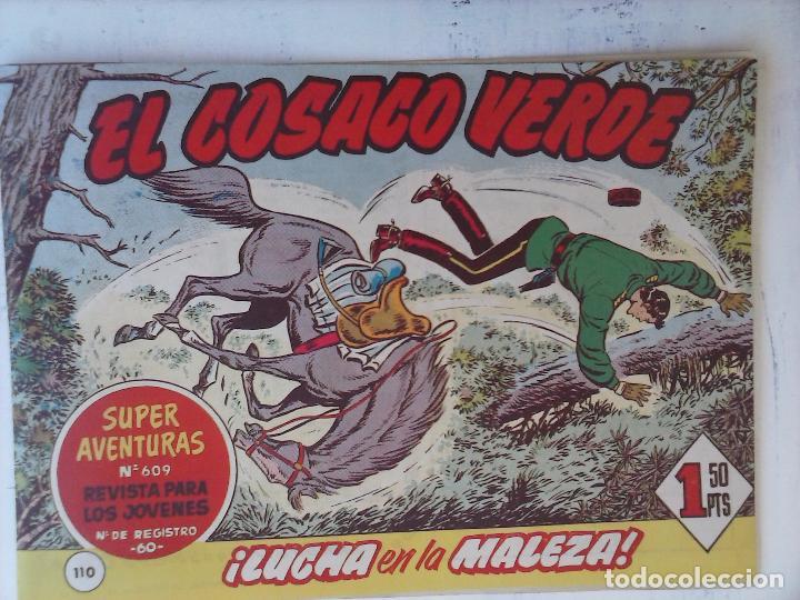 Tebeos: EL COSACO VERDE COMPLETA ORIGINAL Y SUELTA - 1 AL 144 , MAGNÍFICO ESTADO, VER TODAS LAS PORTADAS - Foto 56 - 94629439