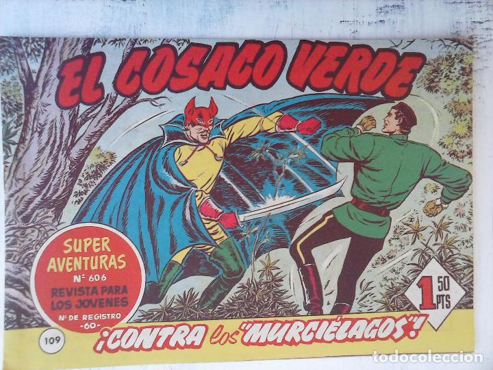 Tebeos: EL COSACO VERDE COMPLETA ORIGINAL Y SUELTA - 1 AL 144 , MAGNÍFICO ESTADO, VER TODAS LAS PORTADAS - Foto 57 - 94629439