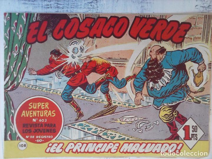 Tebeos: EL COSACO VERDE COMPLETA ORIGINAL Y SUELTA - 1 AL 144 , MAGNÍFICO ESTADO, VER TODAS LAS PORTADAS - Foto 58 - 94629439