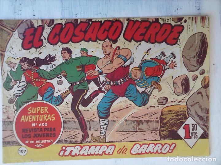Tebeos: EL COSACO VERDE COMPLETA ORIGINAL Y SUELTA - 1 AL 144 , MAGNÍFICO ESTADO, VER TODAS LAS PORTADAS - Foto 59 - 94629439