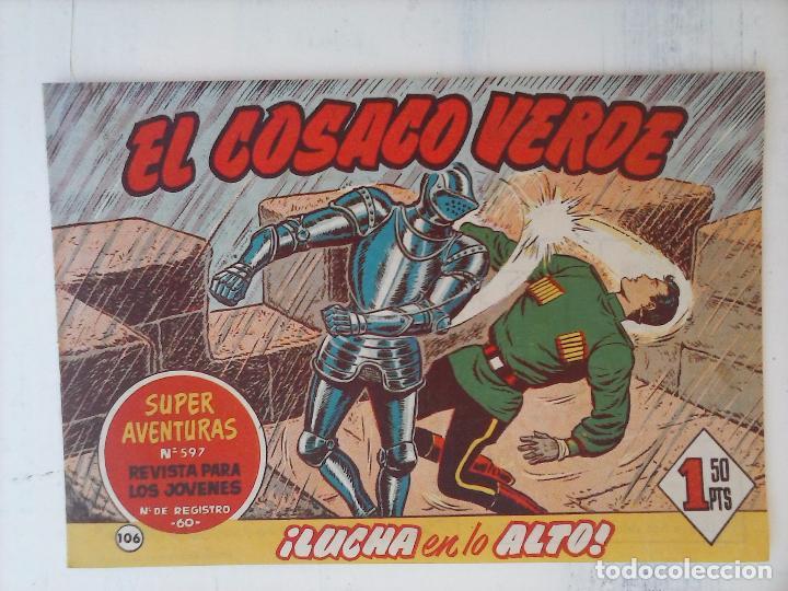 Tebeos: EL COSACO VERDE COMPLETA ORIGINAL Y SUELTA - 1 AL 144 , MAGNÍFICO ESTADO, VER TODAS LAS PORTADAS - Foto 60 - 94629439