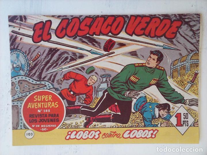 Tebeos: EL COSACO VERDE COMPLETA ORIGINAL Y SUELTA - 1 AL 144 , MAGNÍFICO ESTADO, VER TODAS LAS PORTADAS - Foto 63 - 94629439