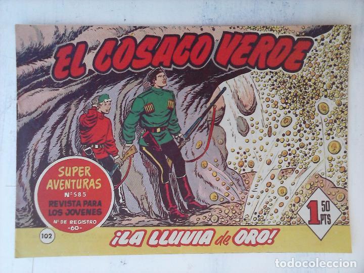 Tebeos: EL COSACO VERDE COMPLETA ORIGINAL Y SUELTA - 1 AL 144 , MAGNÍFICO ESTADO, VER TODAS LAS PORTADAS - Foto 64 - 94629439
