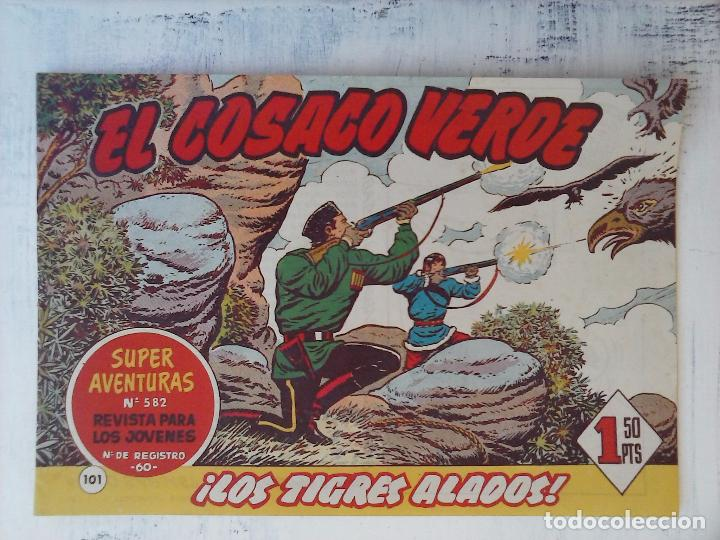Tebeos: EL COSACO VERDE COMPLETA ORIGINAL Y SUELTA - 1 AL 144 , MAGNÍFICO ESTADO, VER TODAS LAS PORTADAS - Foto 65 - 94629439