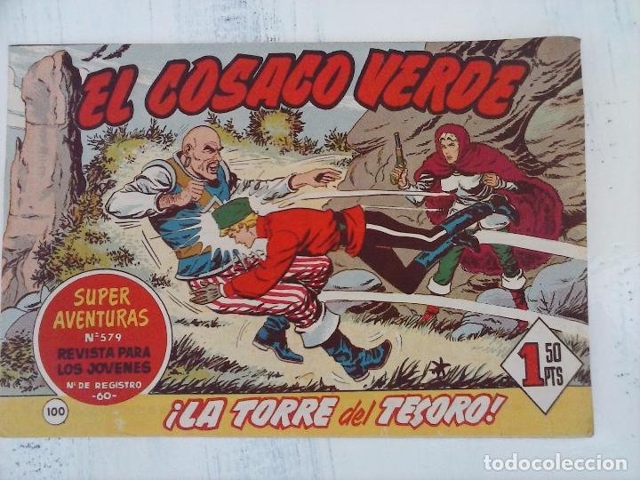 Tebeos: EL COSACO VERDE COMPLETA ORIGINAL Y SUELTA - 1 AL 144 , MAGNÍFICO ESTADO, VER TODAS LAS PORTADAS - Foto 66 - 94629439