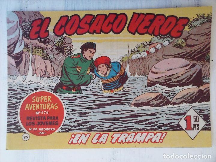 Tebeos: EL COSACO VERDE COMPLETA ORIGINAL Y SUELTA - 1 AL 144 , MAGNÍFICO ESTADO, VER TODAS LAS PORTADAS - Foto 67 - 94629439