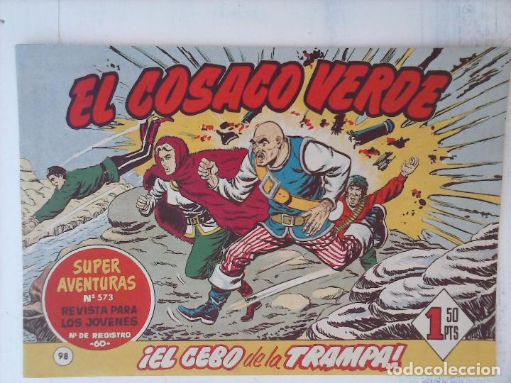 Tebeos: EL COSACO VERDE COMPLETA ORIGINAL Y SUELTA - 1 AL 144 , MAGNÍFICO ESTADO, VER TODAS LAS PORTADAS - Foto 68 - 94629439
