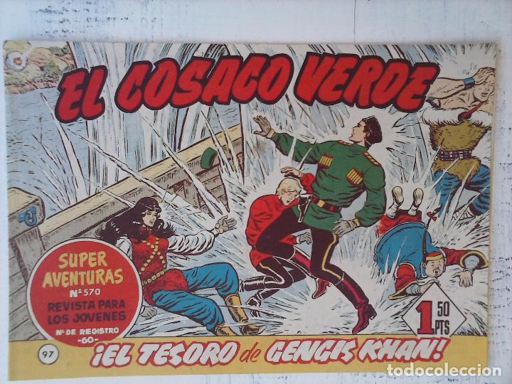 Tebeos: EL COSACO VERDE COMPLETA ORIGINAL Y SUELTA - 1 AL 144 , MAGNÍFICO ESTADO, VER TODAS LAS PORTADAS - Foto 69 - 94629439