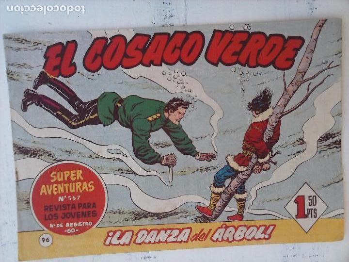 Tebeos: EL COSACO VERDE COMPLETA ORIGINAL Y SUELTA - 1 AL 144 , MAGNÍFICO ESTADO, VER TODAS LAS PORTADAS - Foto 70 - 94629439