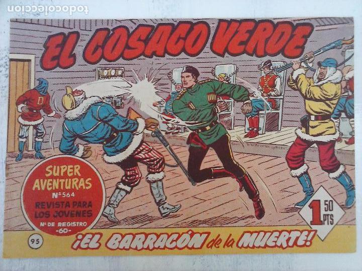 Tebeos: EL COSACO VERDE COMPLETA ORIGINAL Y SUELTA - 1 AL 144 , MAGNÍFICO ESTADO, VER TODAS LAS PORTADAS - Foto 71 - 94629439
