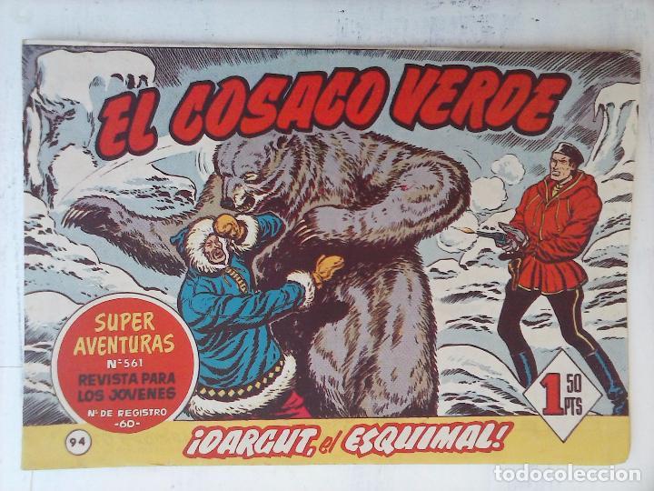 Tebeos: EL COSACO VERDE COMPLETA ORIGINAL Y SUELTA - 1 AL 144 , MAGNÍFICO ESTADO, VER TODAS LAS PORTADAS - Foto 72 - 94629439