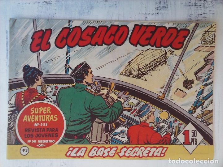 Tebeos: EL COSACO VERDE COMPLETA ORIGINAL Y SUELTA - 1 AL 144 , MAGNÍFICO ESTADO, VER TODAS LAS PORTADAS - Foto 73 - 94629439