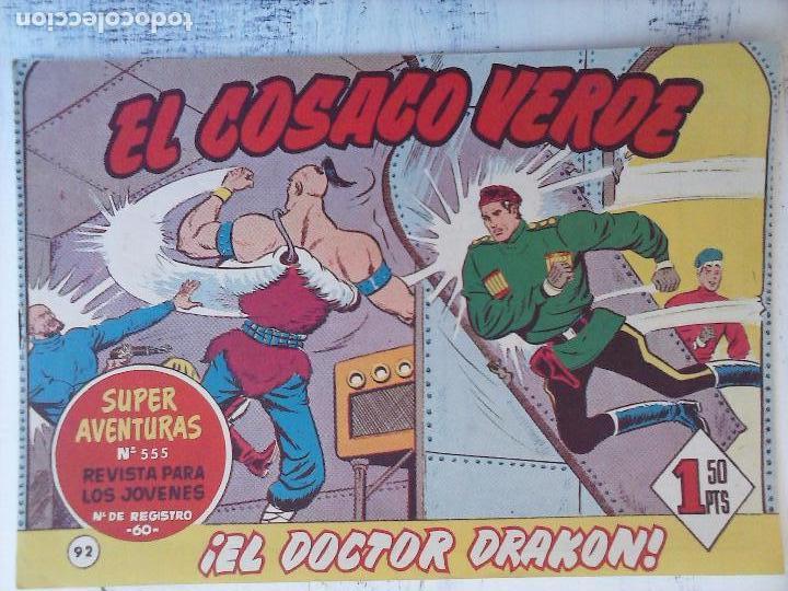Tebeos: EL COSACO VERDE COMPLETA ORIGINAL Y SUELTA - 1 AL 144 , MAGNÍFICO ESTADO, VER TODAS LAS PORTADAS - Foto 76 - 94629439