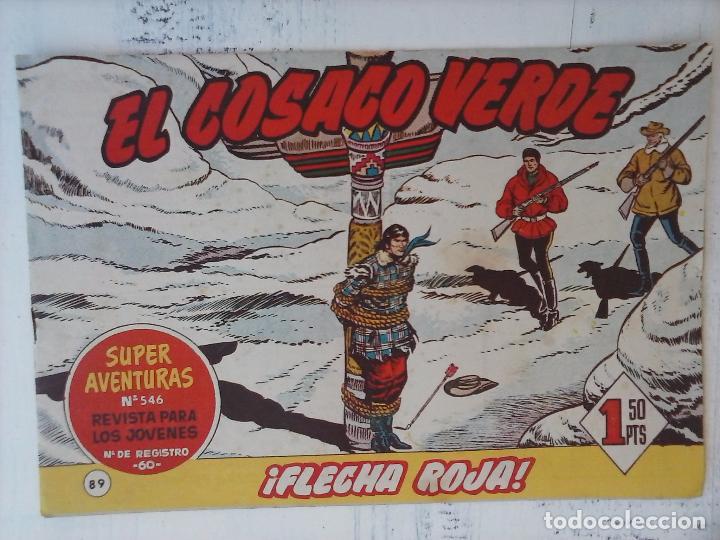 Tebeos: EL COSACO VERDE COMPLETA ORIGINAL Y SUELTA - 1 AL 144 , MAGNÍFICO ESTADO, VER TODAS LAS PORTADAS - Foto 79 - 94629439