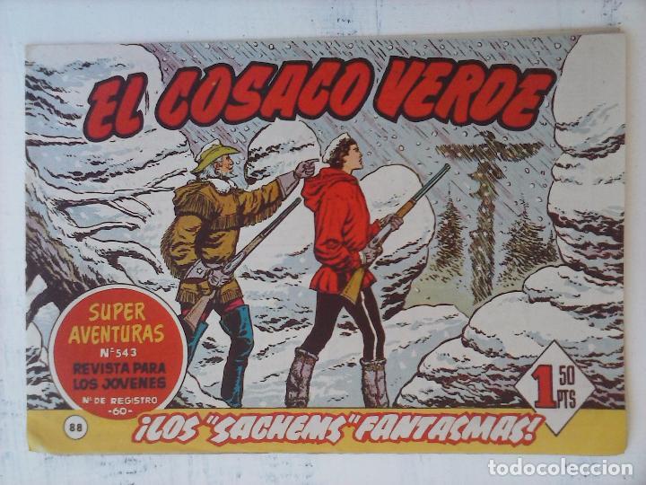 Tebeos: EL COSACO VERDE COMPLETA ORIGINAL Y SUELTA - 1 AL 144 , MAGNÍFICO ESTADO, VER TODAS LAS PORTADAS - Foto 80 - 94629439
