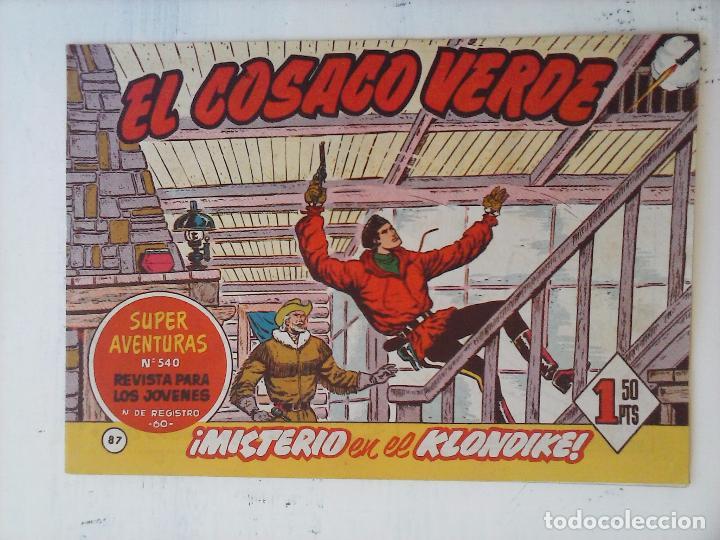 Tebeos: EL COSACO VERDE COMPLETA ORIGINAL Y SUELTA - 1 AL 144 , MAGNÍFICO ESTADO, VER TODAS LAS PORTADAS - Foto 81 - 94629439