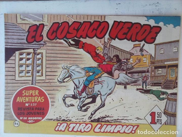 Tebeos: EL COSACO VERDE COMPLETA ORIGINAL Y SUELTA - 1 AL 144 , MAGNÍFICO ESTADO, VER TODAS LAS PORTADAS - Foto 82 - 94629439