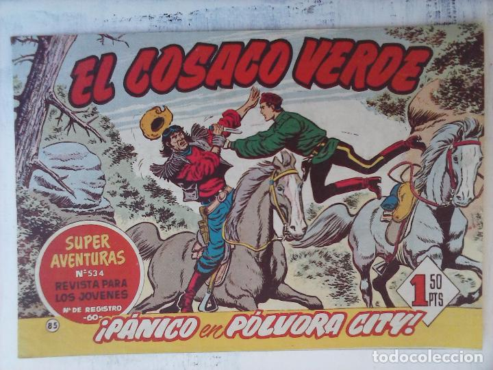 Tebeos: EL COSACO VERDE COMPLETA ORIGINAL Y SUELTA - 1 AL 144 , MAGNÍFICO ESTADO, VER TODAS LAS PORTADAS - Foto 84 - 94629439