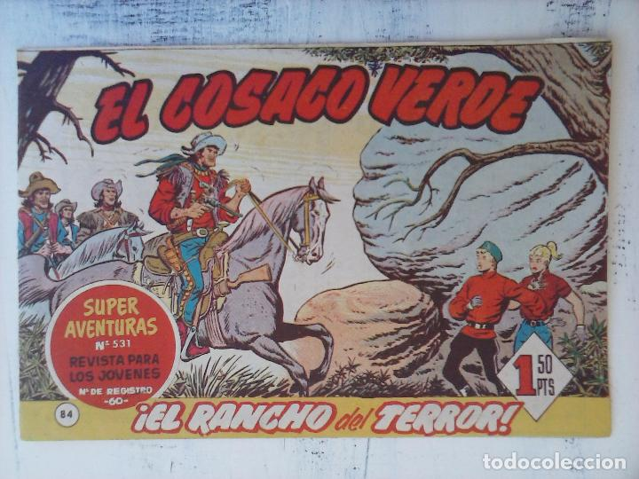 Tebeos: EL COSACO VERDE COMPLETA ORIGINAL Y SUELTA - 1 AL 144 , MAGNÍFICO ESTADO, VER TODAS LAS PORTADAS - Foto 85 - 94629439