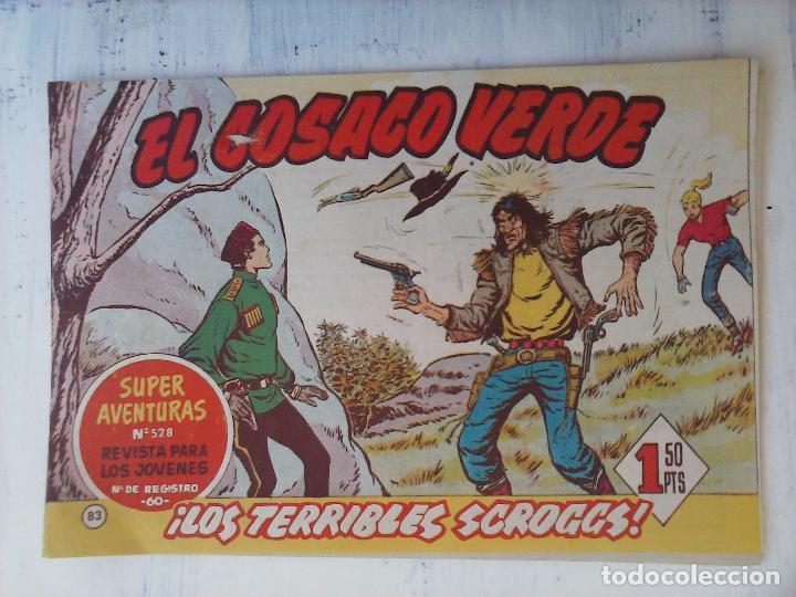 Tebeos: EL COSACO VERDE COMPLETA ORIGINAL Y SUELTA - 1 AL 144 , MAGNÍFICO ESTADO, VER TODAS LAS PORTADAS - Foto 87 - 94629439
