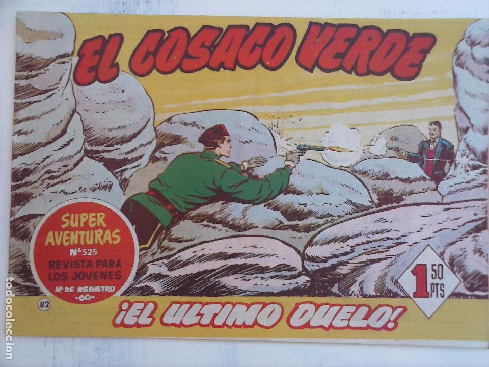 Tebeos: EL COSACO VERDE COMPLETA ORIGINAL Y SUELTA - 1 AL 144 , MAGNÍFICO ESTADO, VER TODAS LAS PORTADAS - Foto 88 - 94629439