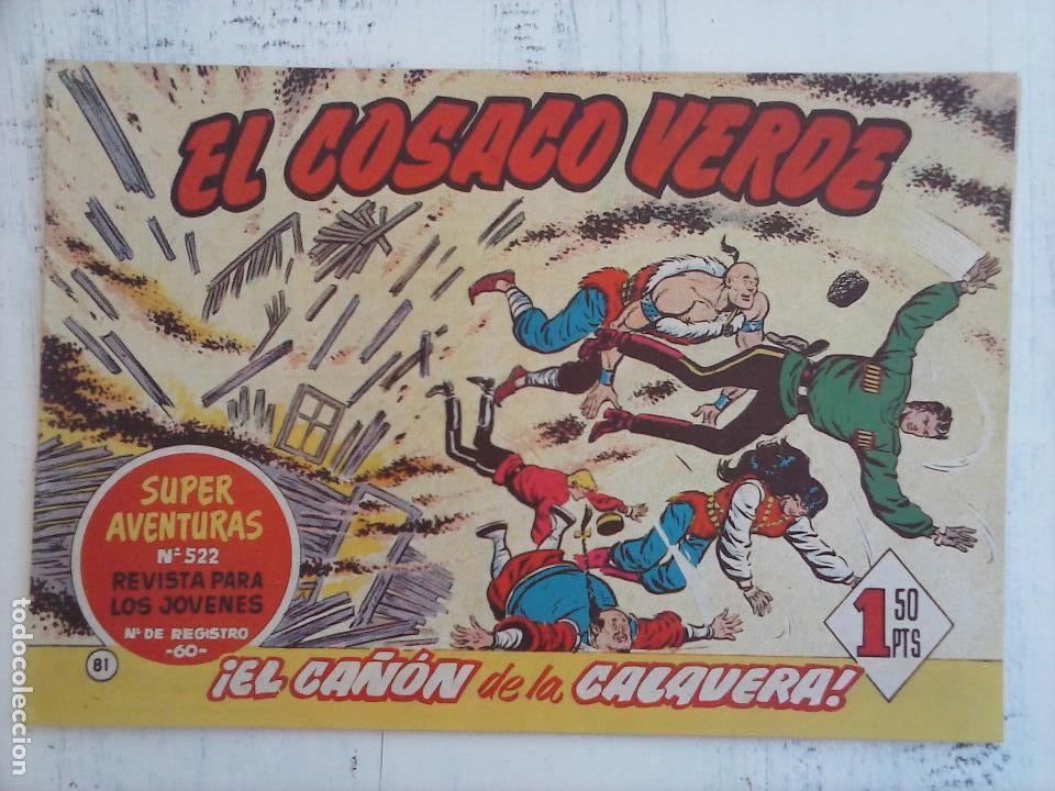 Tebeos: EL COSACO VERDE COMPLETA ORIGINAL Y SUELTA - 1 AL 144 , MAGNÍFICO ESTADO, VER TODAS LAS PORTADAS - Foto 89 - 94629439