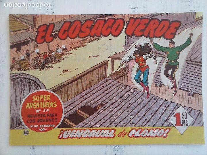 Tebeos: EL COSACO VERDE COMPLETA ORIGINAL Y SUELTA - 1 AL 144 , MAGNÍFICO ESTADO, VER TODAS LAS PORTADAS - Foto 90 - 94629439