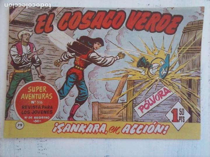 Tebeos: EL COSACO VERDE COMPLETA ORIGINAL Y SUELTA - 1 AL 144 , MAGNÍFICO ESTADO, VER TODAS LAS PORTADAS - Foto 91 - 94629439