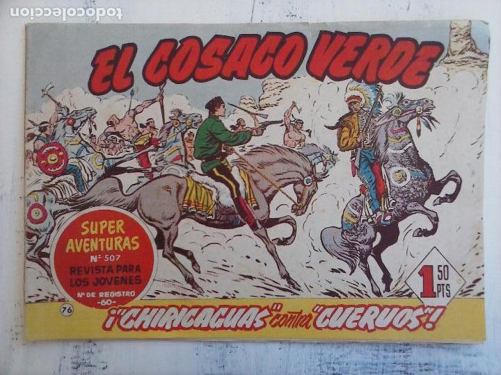 Tebeos: EL COSACO VERDE COMPLETA ORIGINAL Y SUELTA - 1 AL 144 , MAGNÍFICO ESTADO, VER TODAS LAS PORTADAS - Foto 94 - 94629439