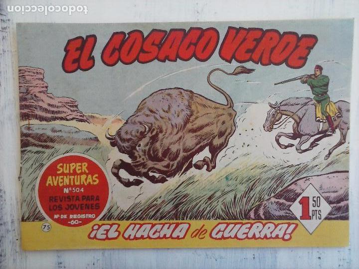 Tebeos: EL COSACO VERDE COMPLETA ORIGINAL Y SUELTA - 1 AL 144 , MAGNÍFICO ESTADO, VER TODAS LAS PORTADAS - Foto 95 - 94629439