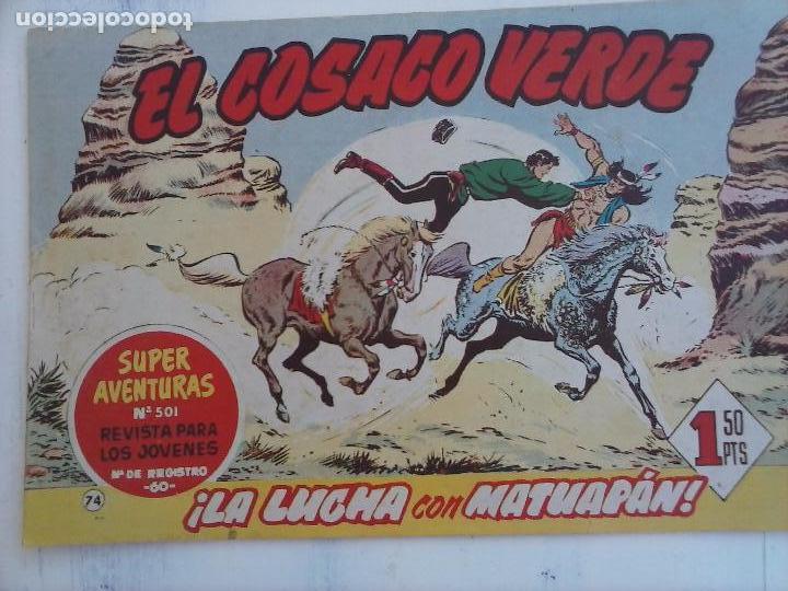 Tebeos: EL COSACO VERDE COMPLETA ORIGINAL Y SUELTA - 1 AL 144 , MAGNÍFICO ESTADO, VER TODAS LAS PORTADAS - Foto 96 - 94629439