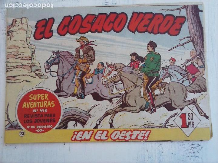 Tebeos: EL COSACO VERDE COMPLETA ORIGINAL Y SUELTA - 1 AL 144 , MAGNÍFICO ESTADO, VER TODAS LAS PORTADAS - Foto 97 - 94629439