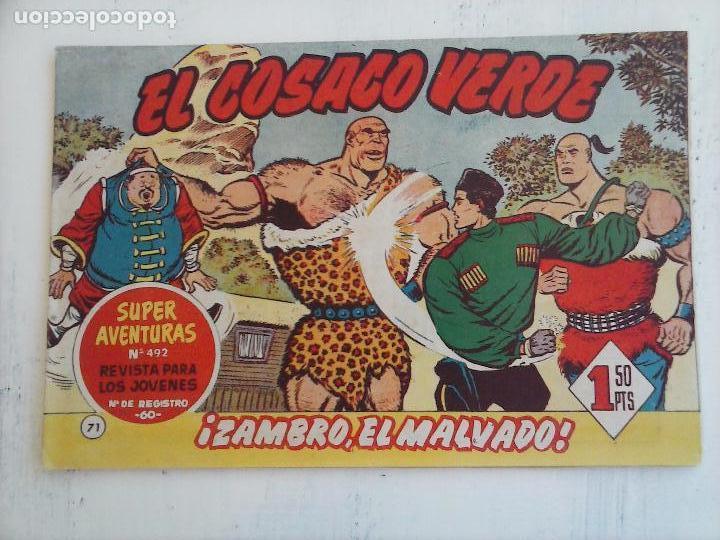 Tebeos: EL COSACO VERDE COMPLETA ORIGINAL Y SUELTA - 1 AL 144 , MAGNÍFICO ESTADO, VER TODAS LAS PORTADAS - Foto 98 - 94629439