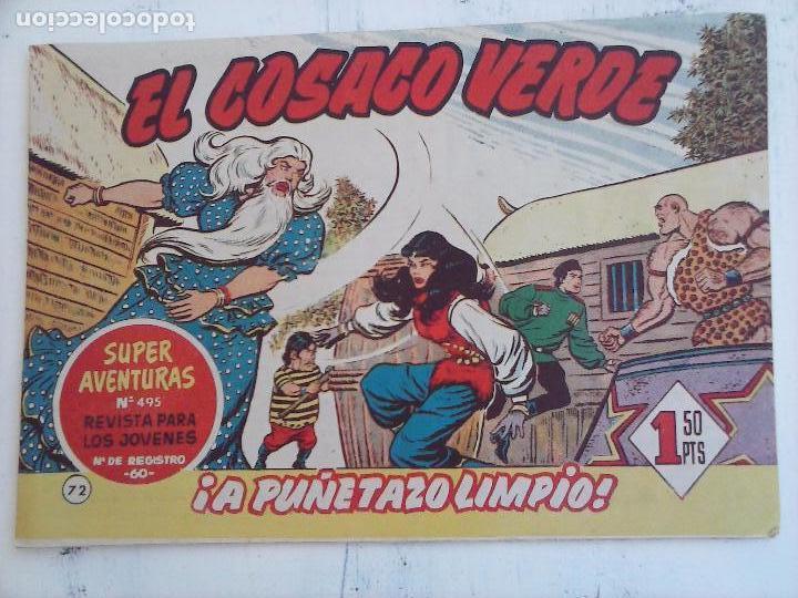 Tebeos: EL COSACO VERDE COMPLETA ORIGINAL Y SUELTA - 1 AL 144 , MAGNÍFICO ESTADO, VER TODAS LAS PORTADAS - Foto 99 - 94629439
