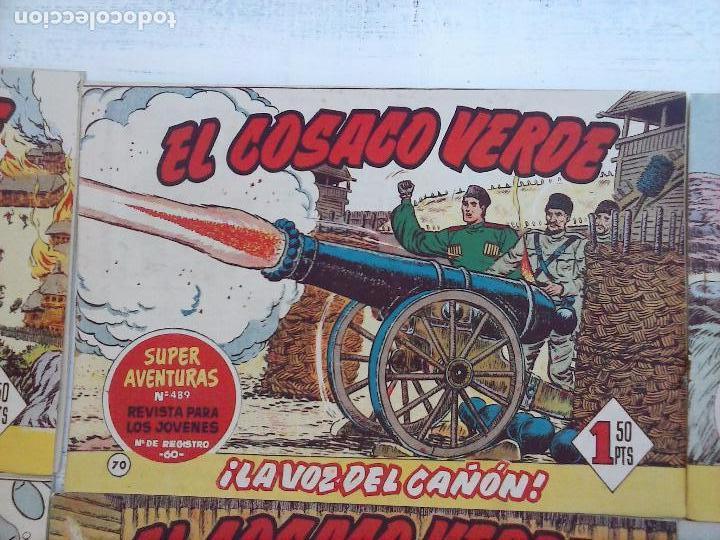Tebeos: EL COSACO VERDE COMPLETA ORIGINAL Y SUELTA - 1 AL 144 , MAGNÍFICO ESTADO, VER TODAS LAS PORTADAS - Foto 100 - 94629439