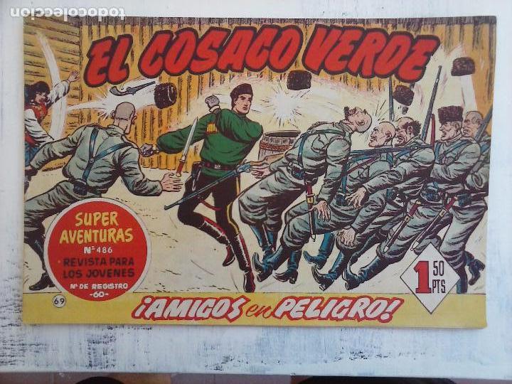 Tebeos: EL COSACO VERDE COMPLETA ORIGINAL Y SUELTA - 1 AL 144 , MAGNÍFICO ESTADO, VER TODAS LAS PORTADAS - Foto 101 - 94629439