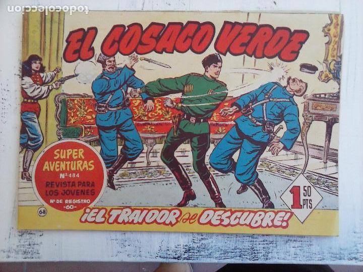 Tebeos: EL COSACO VERDE COMPLETA ORIGINAL Y SUELTA - 1 AL 144 , MAGNÍFICO ESTADO, VER TODAS LAS PORTADAS - Foto 102 - 94629439